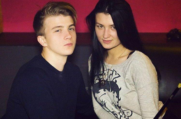 Паша Пэл с женой Марией