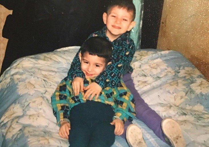 Рауф и Фаик в детстве