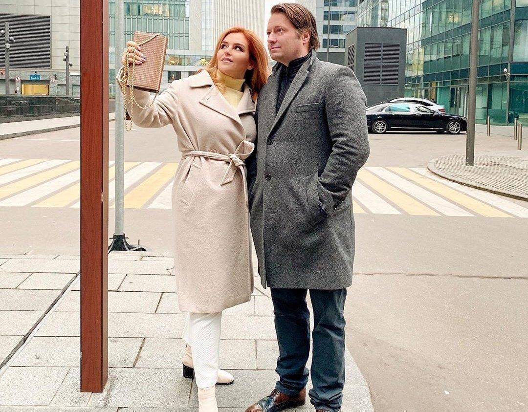 Наталья Закхайм с мужем