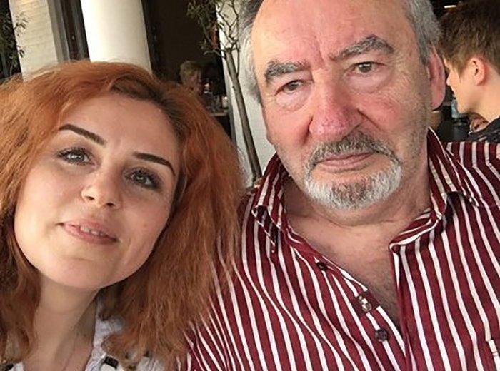 Наталья Закхайм с отцом