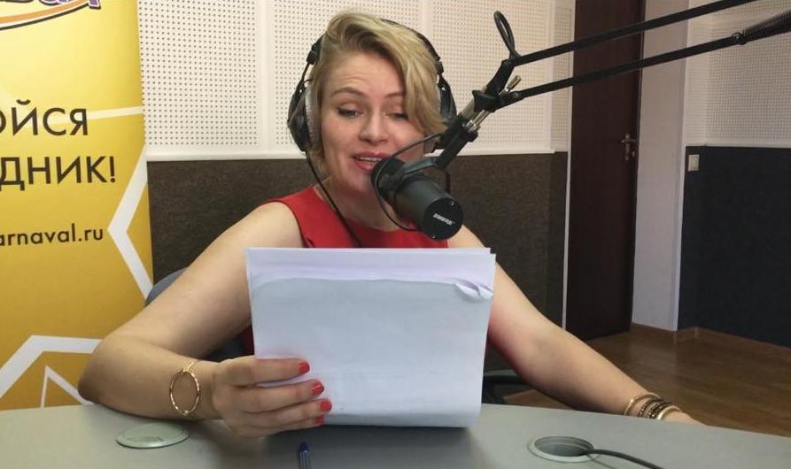 Ольга Дори на радио «Маяк»