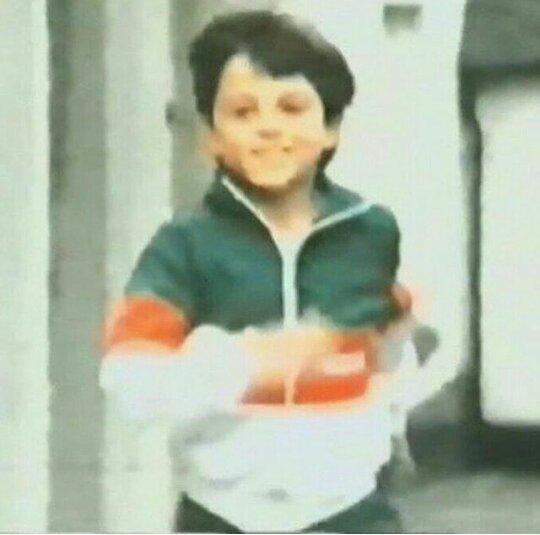 Эндрю Скотт в детстве