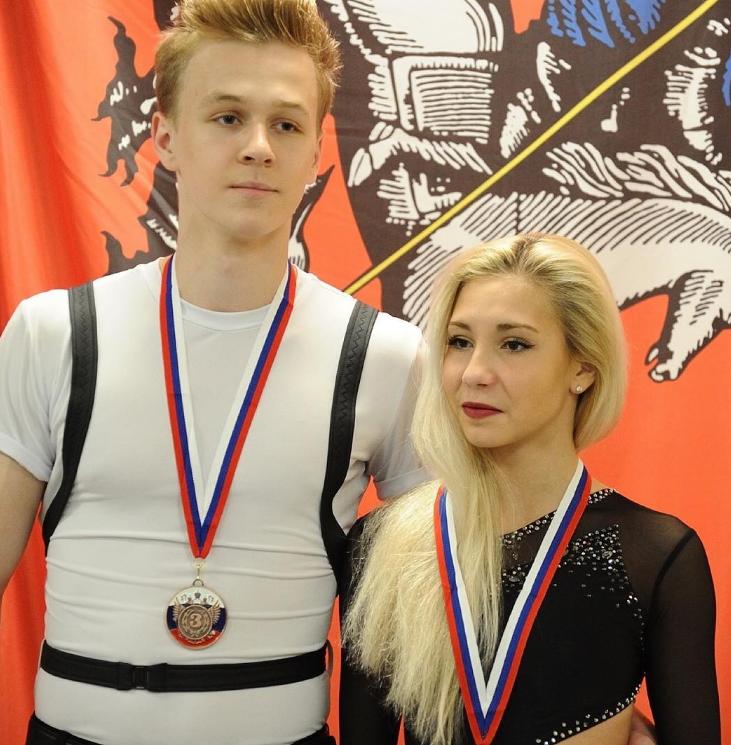 Глеб Смолкин и Диана Дєвис