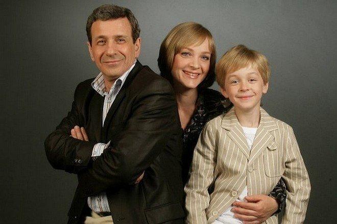 Глеб Смолкин с родителями