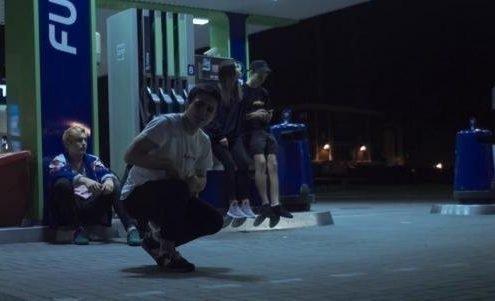 Лизер с группой Закат 99.1