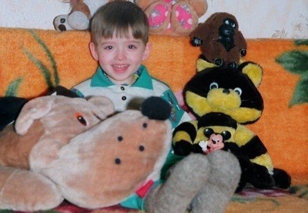 Макс Ващенко в детстве