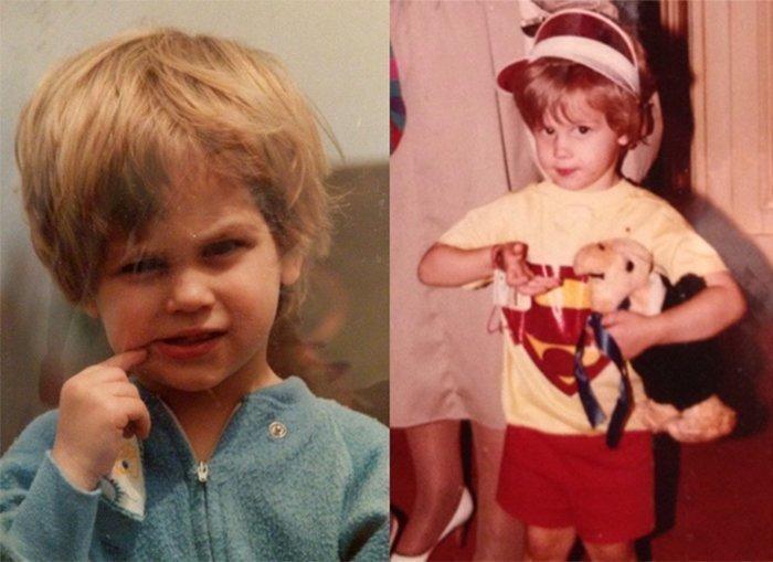 Мэтью Грей в детстве