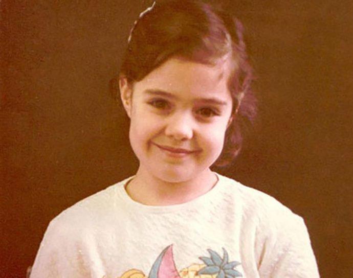 Маша Зайцева в детстве