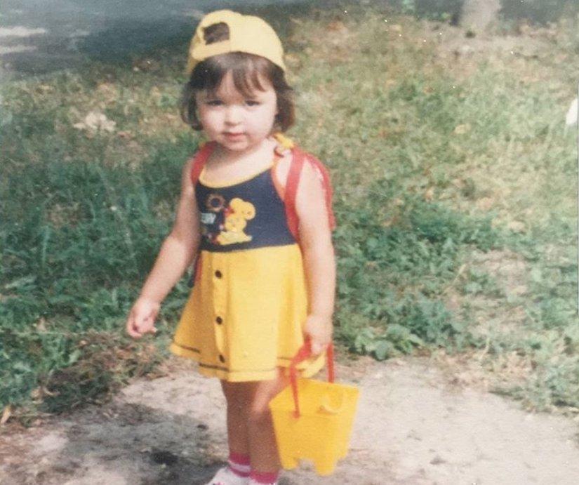 Саби Мисс в детстве