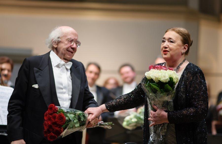 Виктория Постникова и Геннадий Рождественский