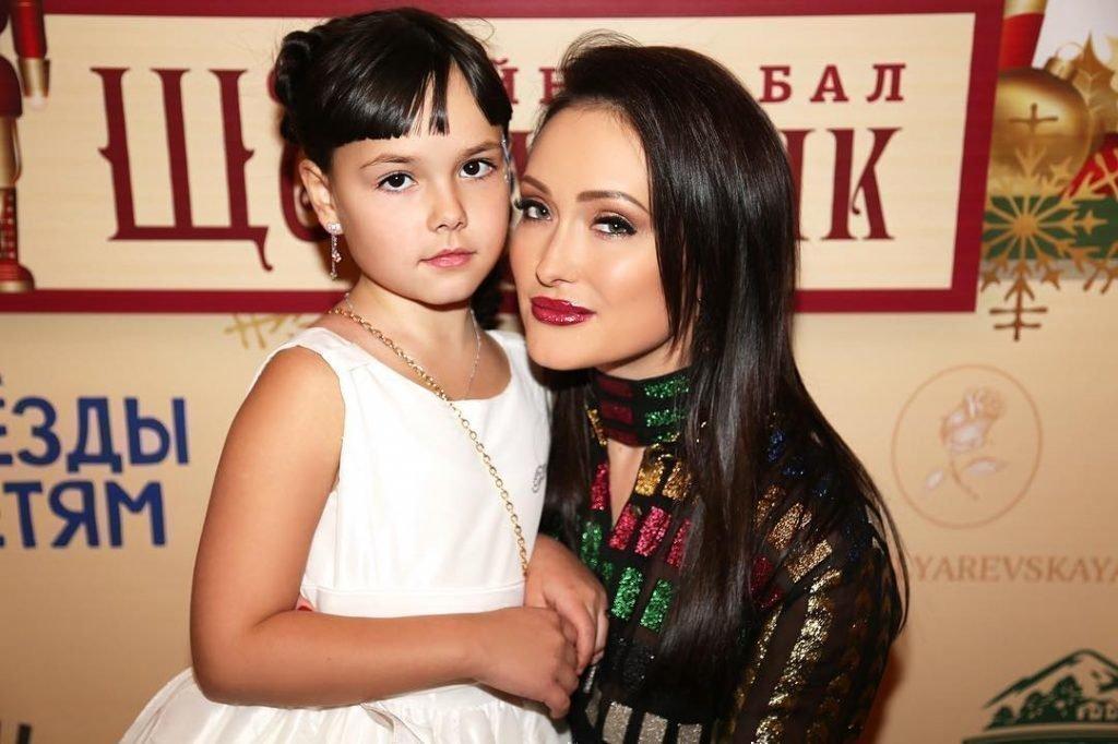 Елена Крайт с дочкой Полиной