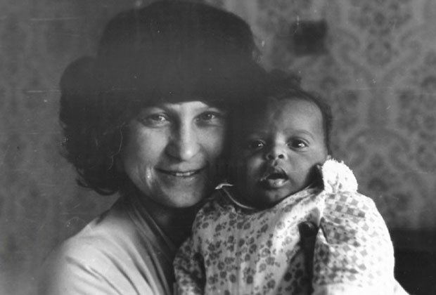 Мигель с мамой