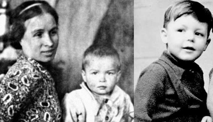 Рудольф Нуреев в детстве