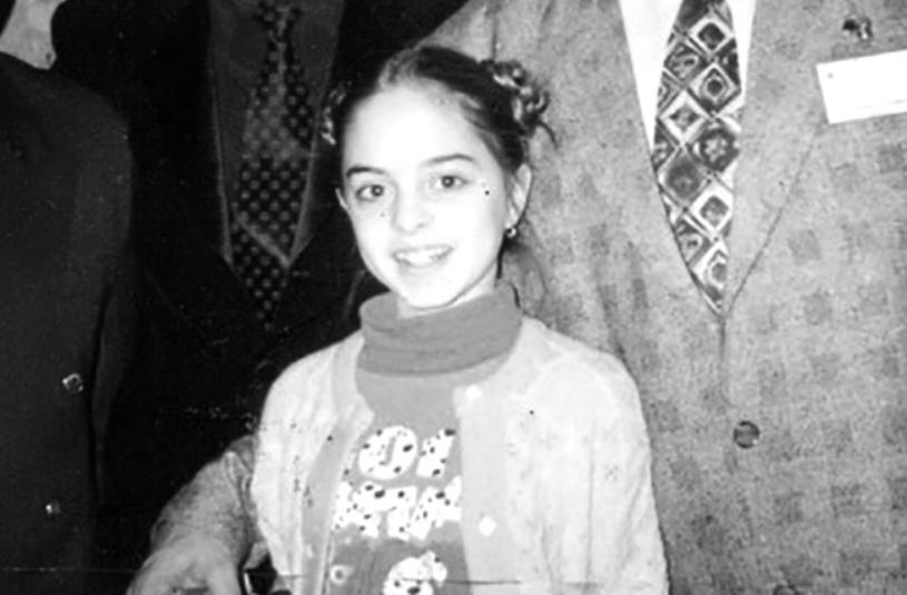 Юлия Ефременкова в детстве