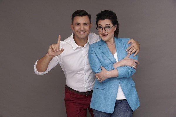 Анна Жижа и Владимир Тищенко