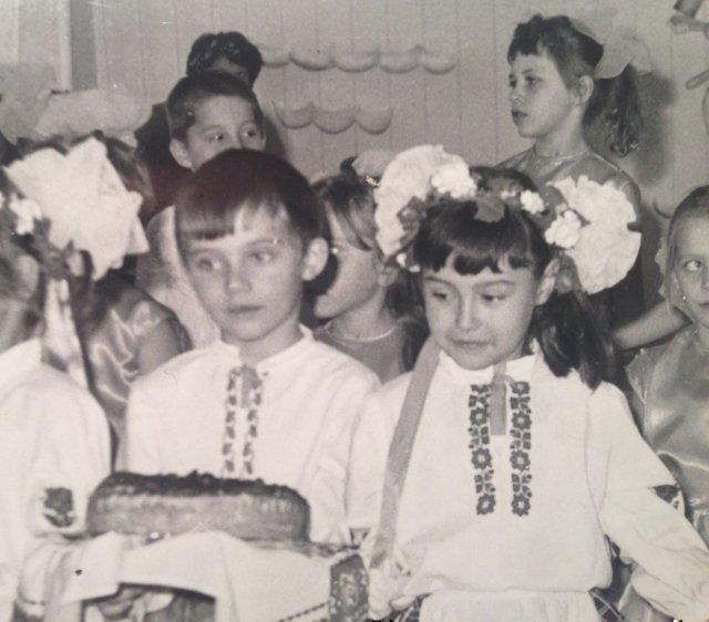 Анна Жижа в детстве