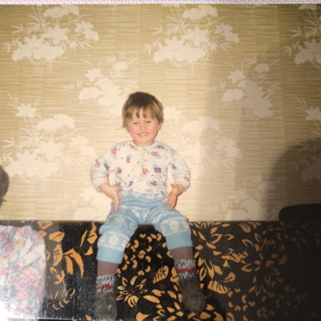 Блогер Руслан Тушенцов в детстве
