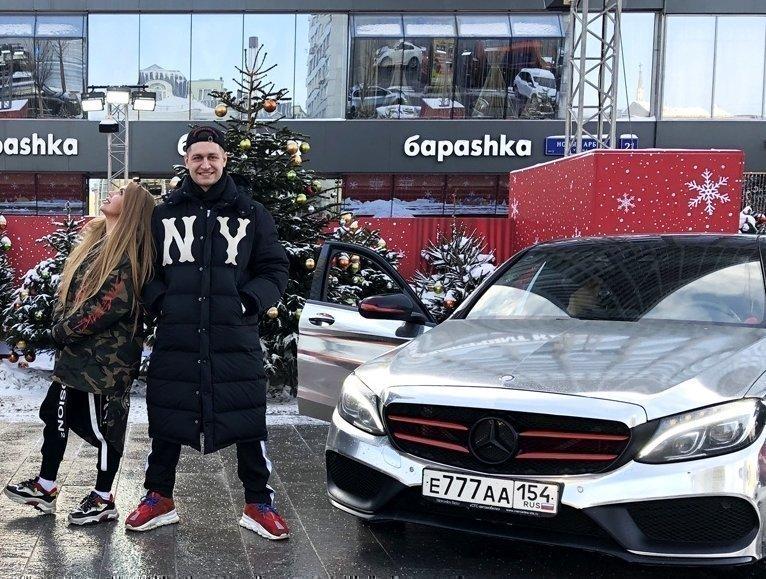 Давид Манукян с Кариной Кросс