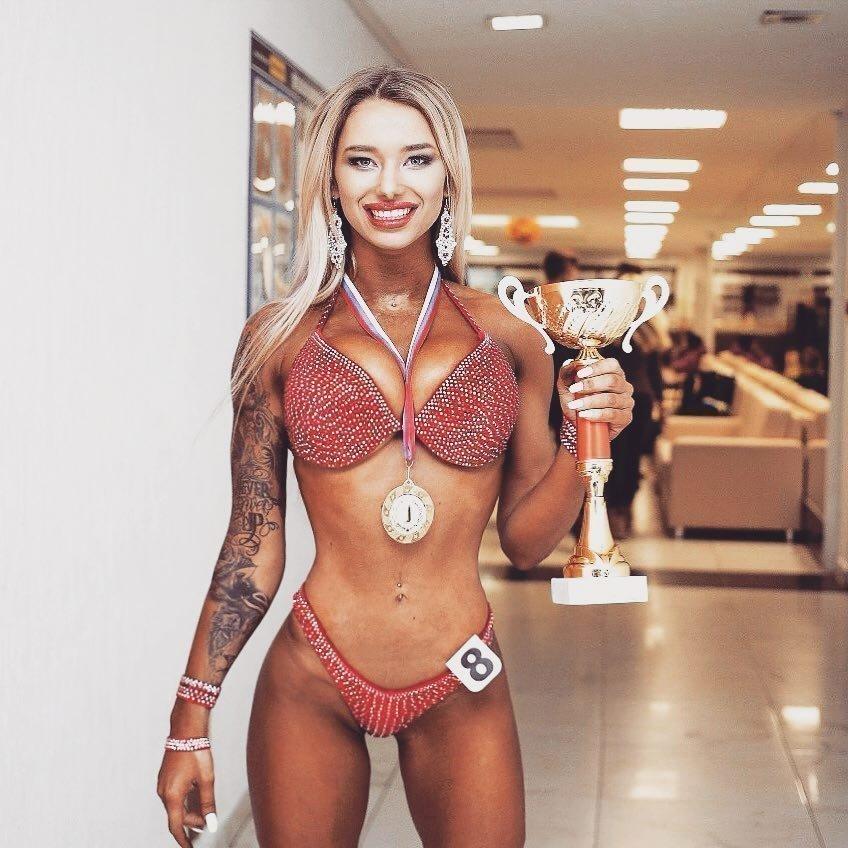 Диана Дроган«Мисс Тула — 2018» в номинации «Фитнес-бикини ростом до 164 см»