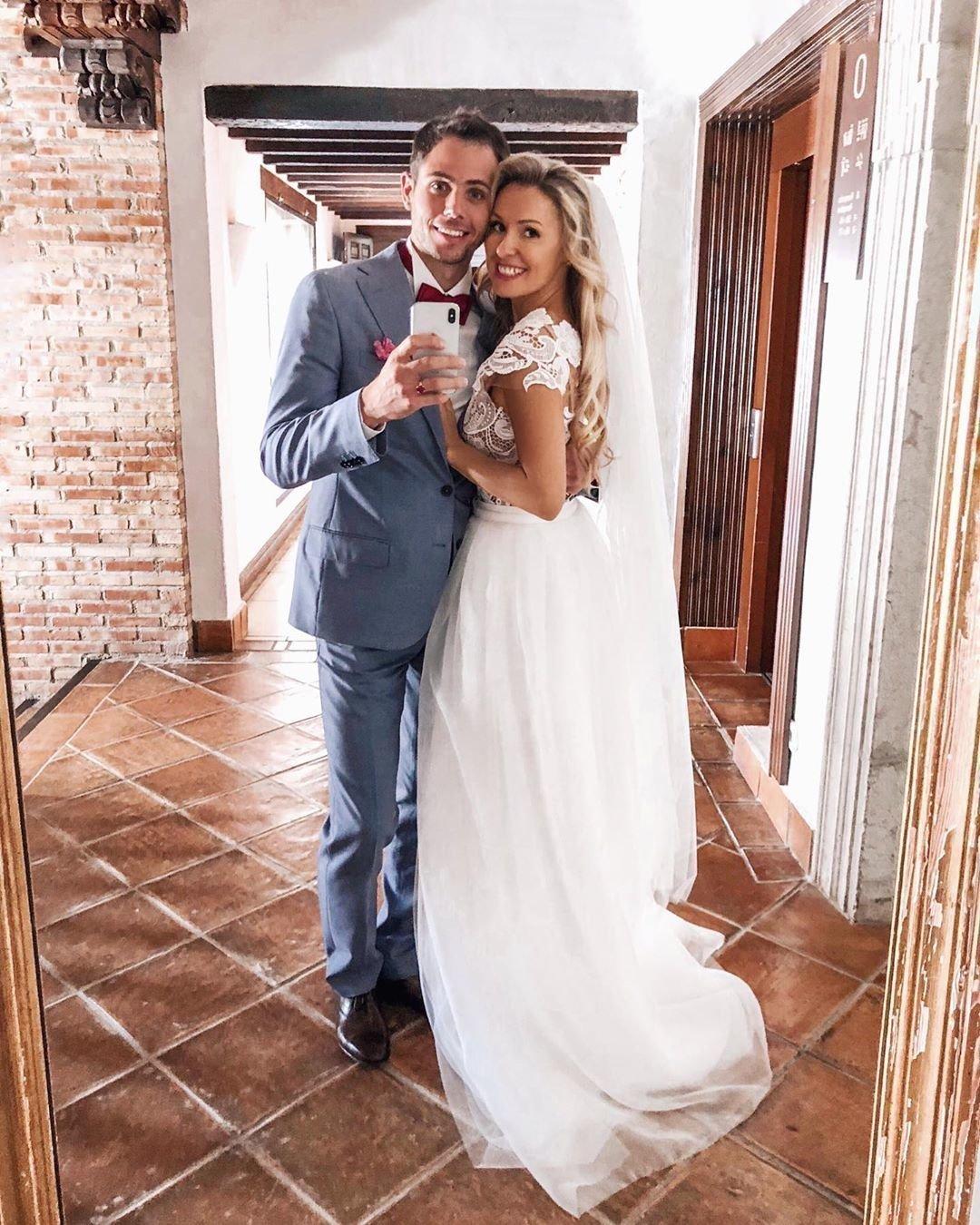 Свадьба Елизаветы Бабановой и Антона Кратасюка