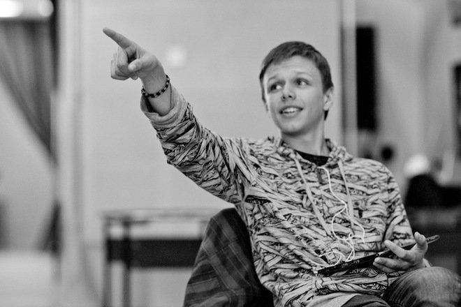 Евсей Ковалев в юности