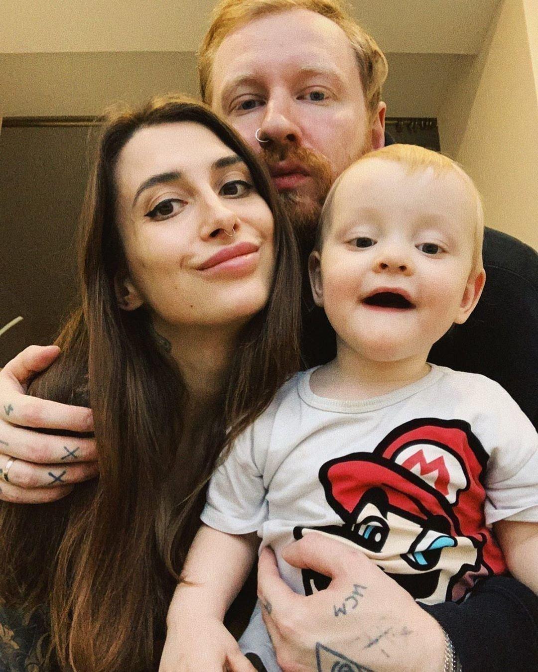 Феликс Бондарев с семьей