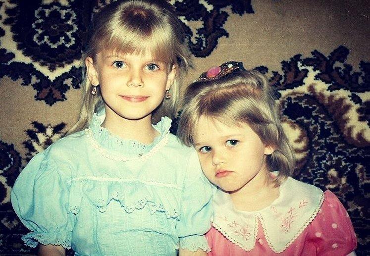 Галина Сумина с сестрой