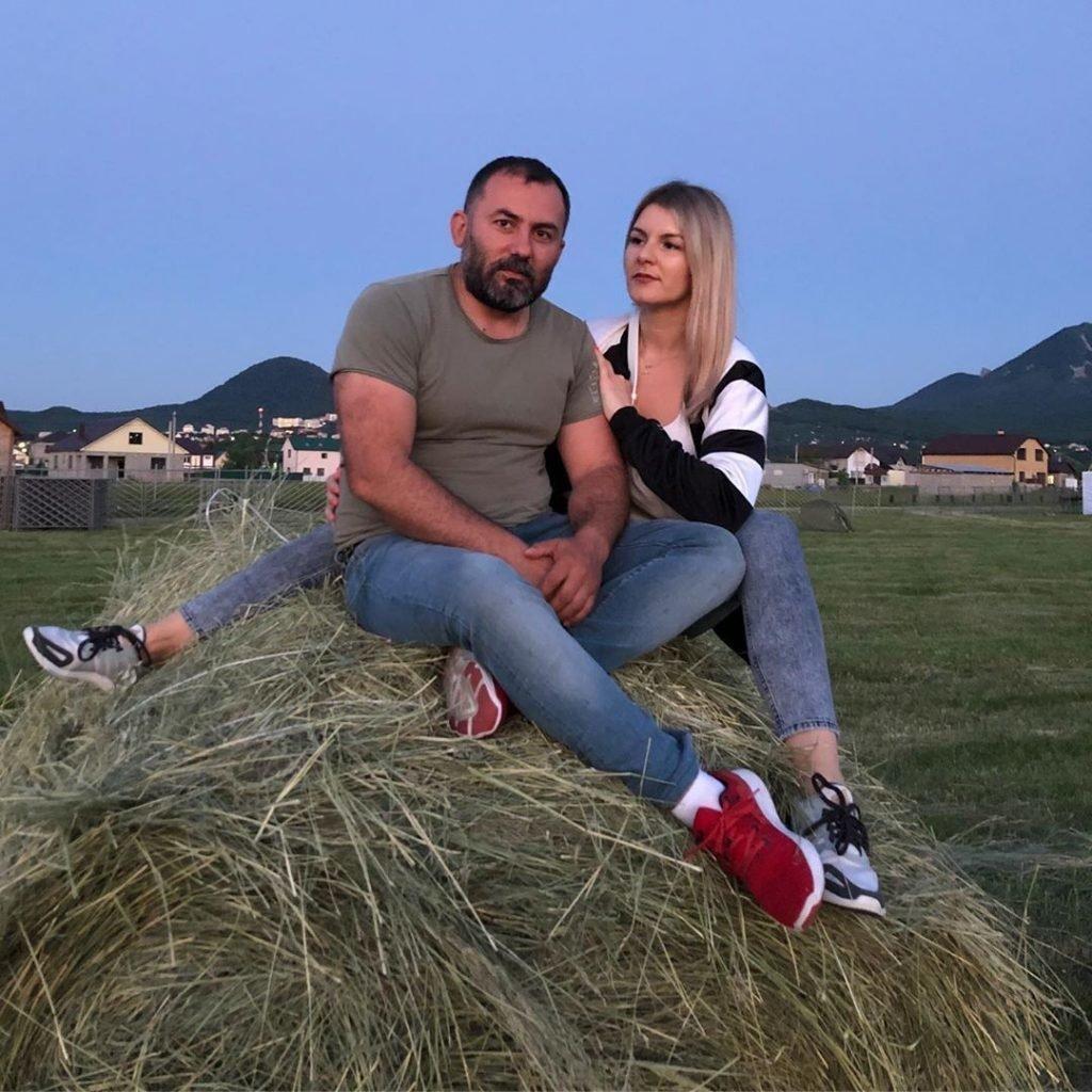 Григорий Кавказ с женой