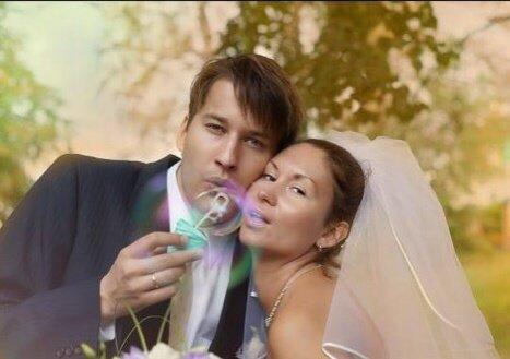 Емельян Брауде с женой
