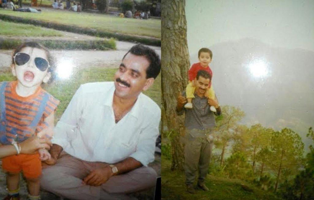 Харшад Арора с отцом