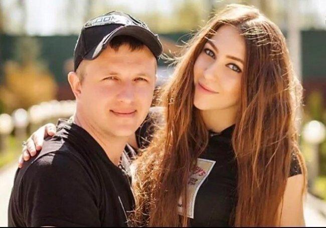 Яббаров с Аленой Савкиной