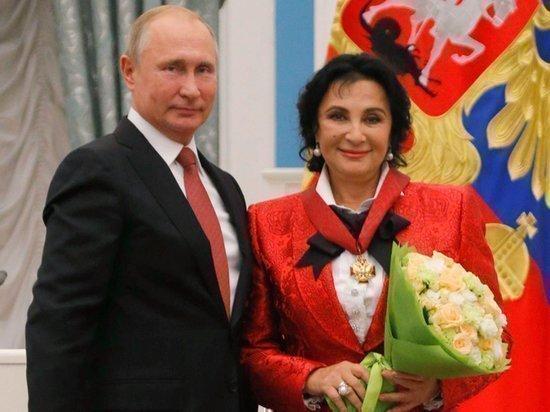 Ирина Винер-Усманова и Президент Путин