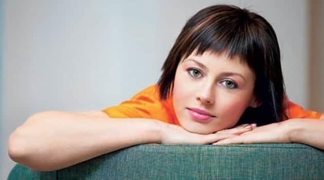 Оксана Куваева в юности