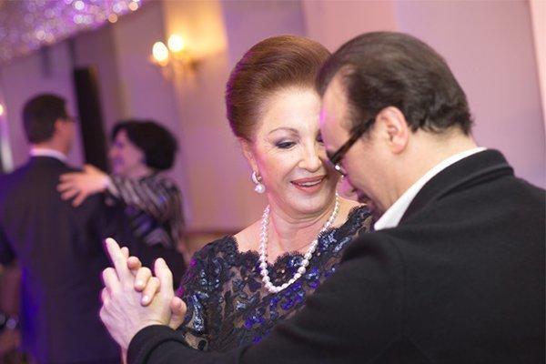 Лейла Адамян со вторым мужем