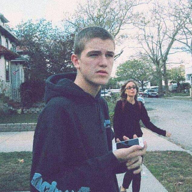 Лил Пип в подростковом возрасте