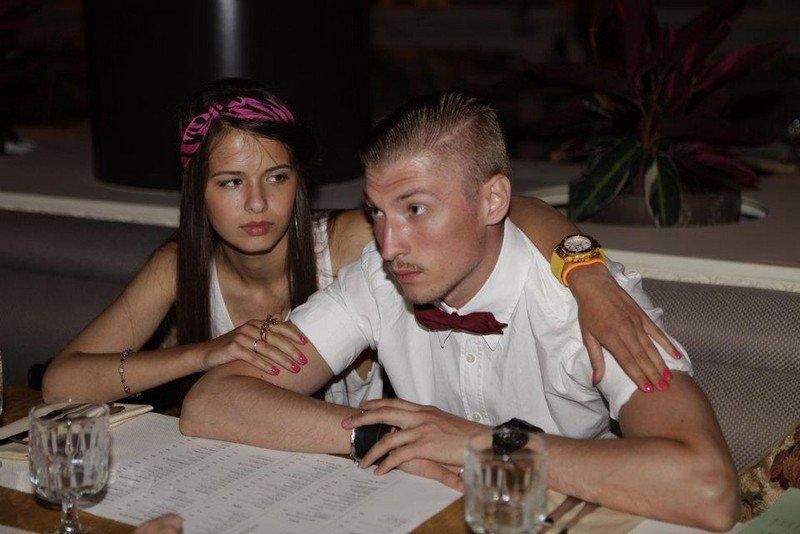 Любовь Аксёнова и ее муж Павел Аксенов