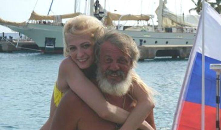 Максимова Полина с отцом