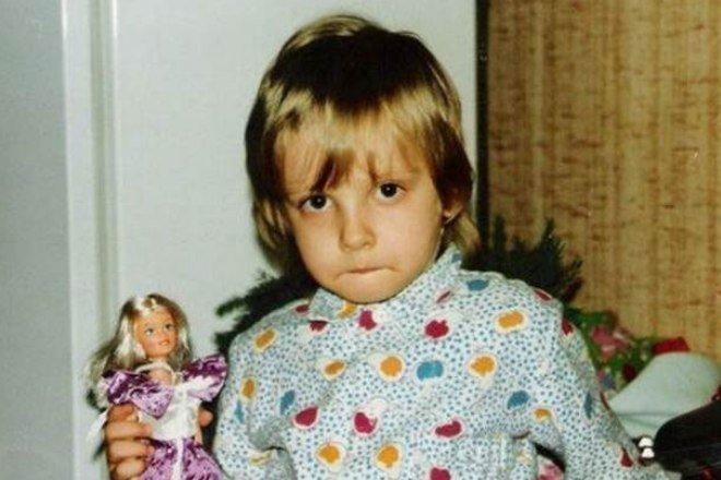 Максимова Полина в детстве