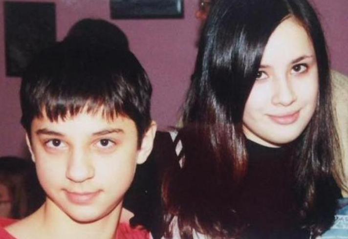 Марат Газманов с сестрой