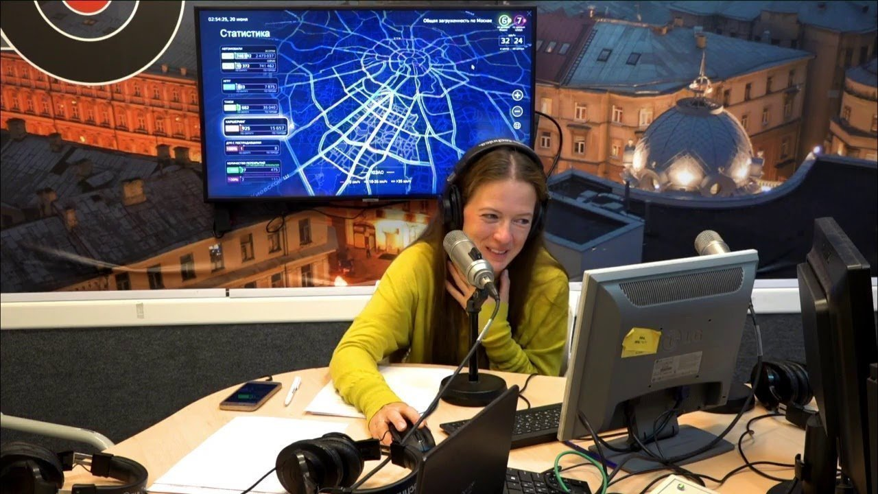 Маша Майерс радиоведущая Эхо Москвы