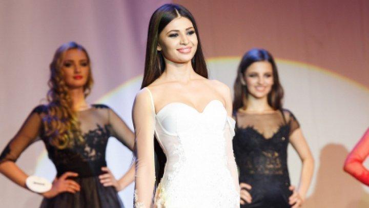 Настя Якуб на конкурсе Мисс мира