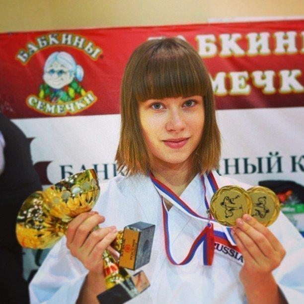 Саша Митрошина в детстве