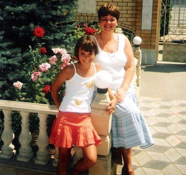 Наталья Забияко в детстве