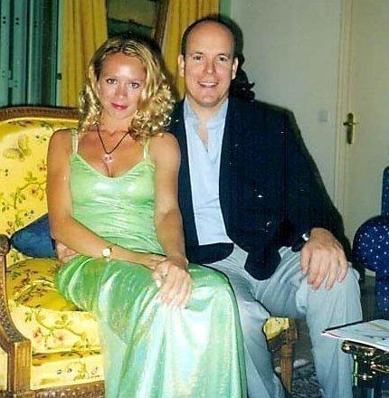 Оксана Грищук и принц Монако