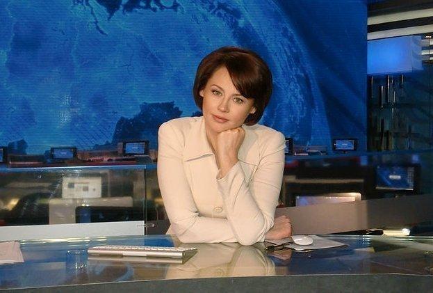 Телеведущая Оксана Куваева