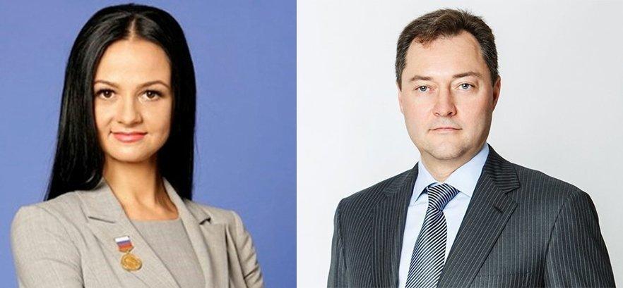 Ольга Глацких и Александр Серебренников