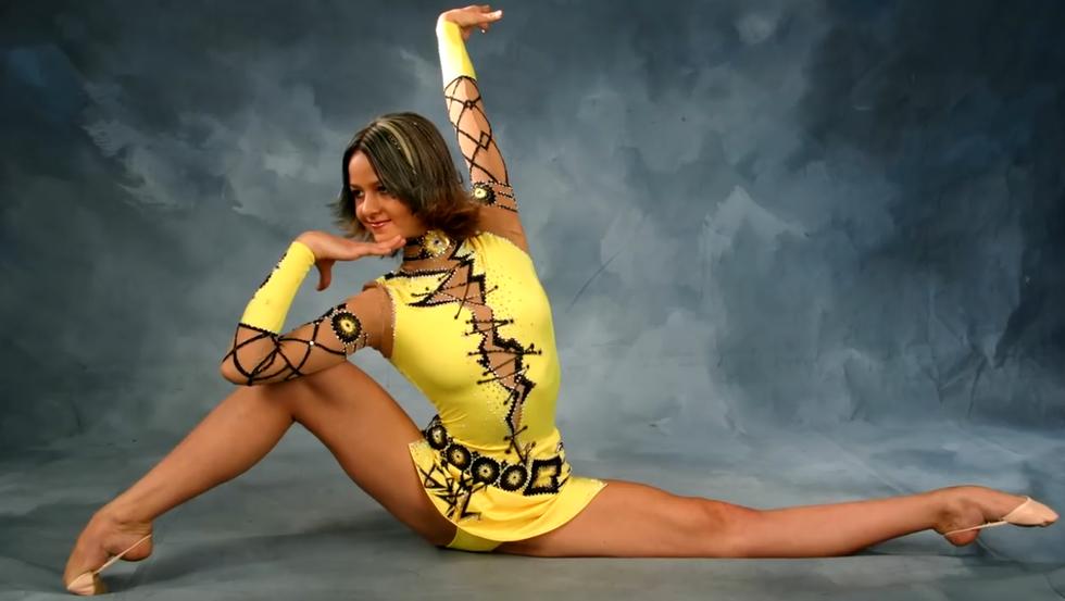 Ольга Глацких гимнастка