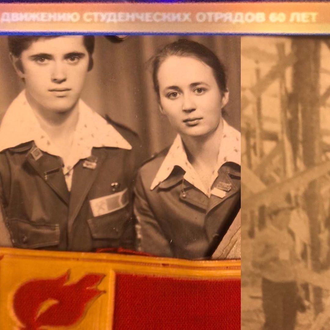 Ольга Шишова в молодости