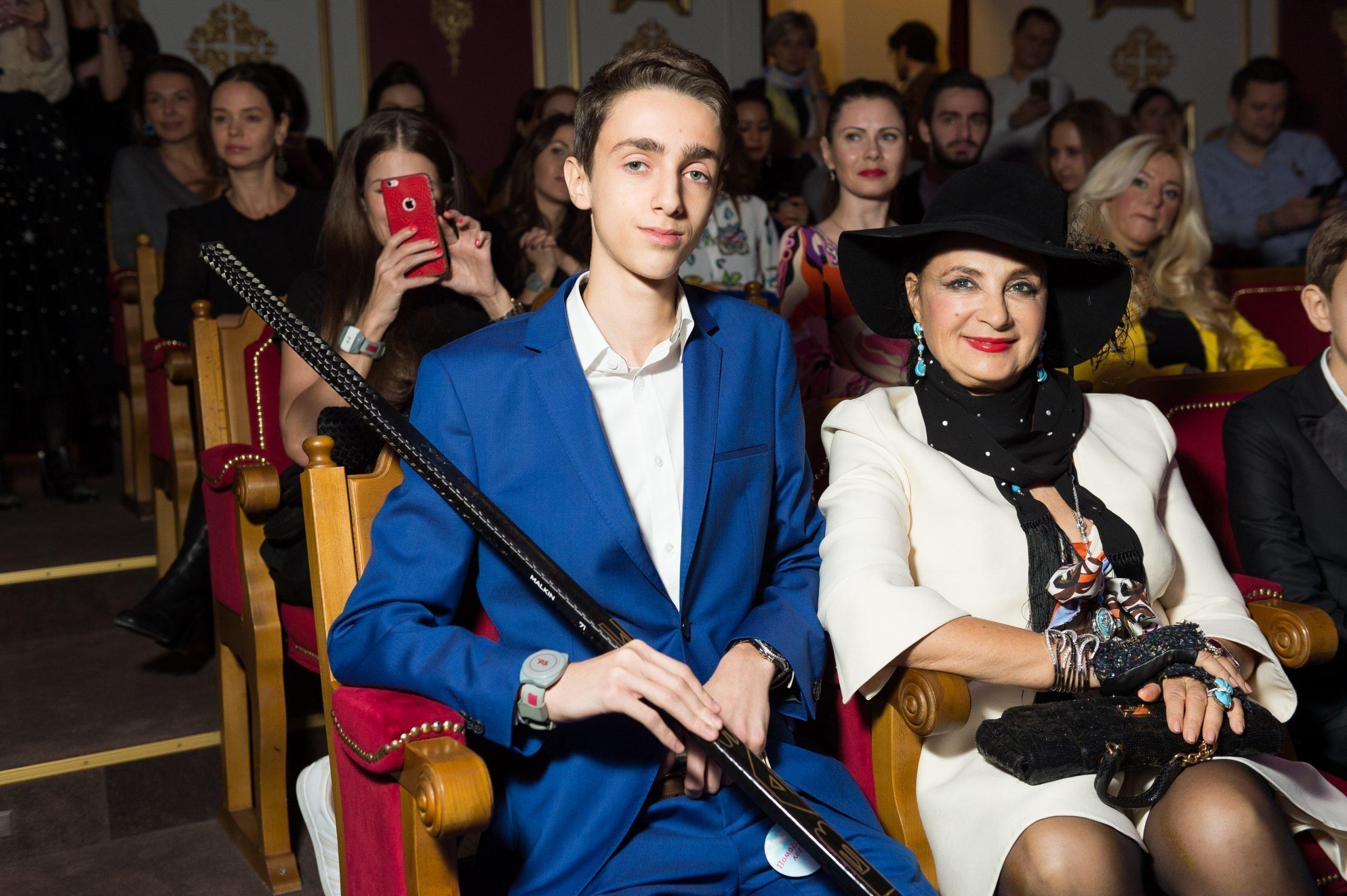 Ирина Винер с внуком