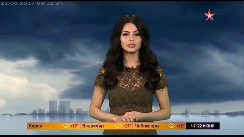 Рената Камалова на канале Звезда